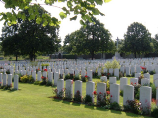 Loos British Cemetery, Pas De Calais, France | Photo from Commonwealth War Graves Commission
