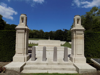 Coxyde Military Cemetery, West Vannderen Belgium | Photo from Commonwealth War Graves Commision