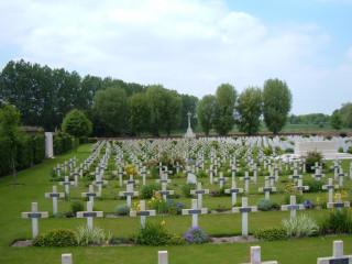Aix-Noulette Communal Cemetery, Pas de Calais, France | Photo from Commonwealth War Graves Commission