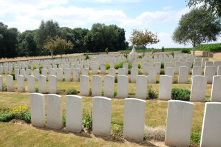 Lonsdale Cemetery, Authuille, Somme, France | Photo from CommonwealthWar Graves Commission