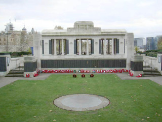 Tower Hill Memorial, London, United Kingdom | Photo from Commonwealth War Graves Commission