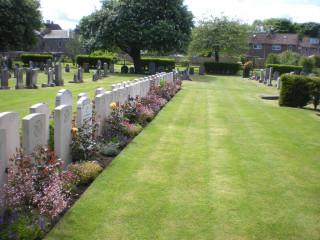 Edinburgh (Seafield) Cemetery, Edinburgh, United Kingdom | Photo from Commonwealth War Graves Commission