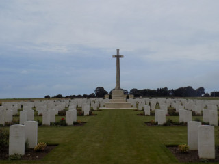 Mont Huon Military Cemetery, Le Treport, Seine Maritime, France