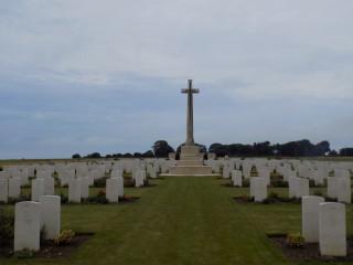 Mont Huon Military Cemetery, Le Treport, Seine Maritime, France