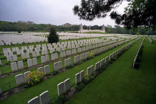 Etaples Military Cemetery, Pas de Calais, France | Photo from Commonwealth War Graves Commission