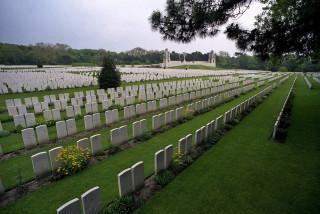 Etaples Military Cemetery, Pas de Calais, France | Photo from Commonwealth War Graves Commission