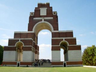 Thiepval Memorial, Somme, France | Photo from Commonwealth War Graves Commission