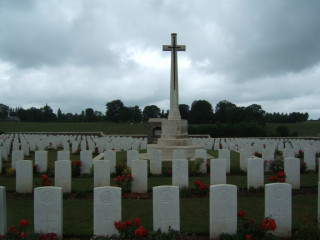 Bulls Road Cemetery, Somme, France | Photo from Commonwealth War Graves Commission