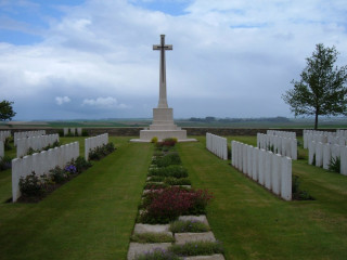 Guards Cemetery, Lesboeufs, Somme, France | Photo from Commonwealth War Graves Commission