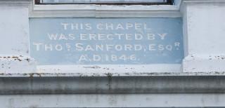 Congregational Chapel Commemoration Stone   Photo by Frances Belsham