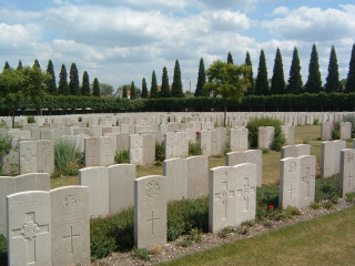 St Sever Cemetery Extension, Rouen, Seine Maritime, France | Photo from Commonwealth War Graves Commision