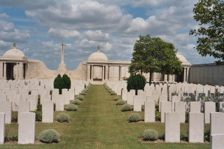 Dud Corner Cemetery, Loos, Pas de Calais, France | Photo from Commonwealth War Graves Commission