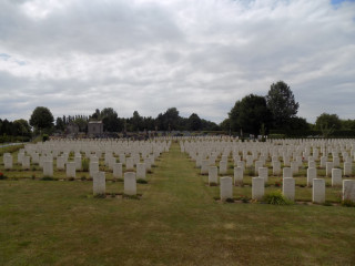 Warloy-Baillon Communal Cemetery, Somme, France | Photo from Commonwealth War Graves Commission