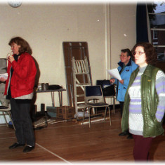 Wivenhoe Pantomime - Performers 80s/90s