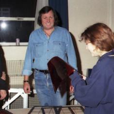 Wivenhoe Pantomime Iain Ward and?   Photo Mike Dowmes