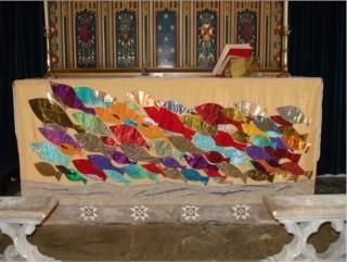 Wivenhoe Altar Cloth | Annie Bielecka