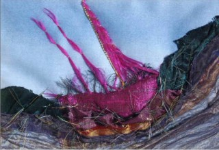 Stormy Weather/Textile | Annie Bielecka