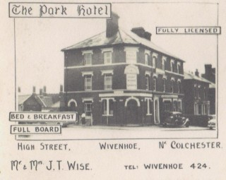 Is there room in the inn or Park Hotel? | Wivenhoe Memories Collection