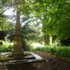 The Corsellis family monument in the Old Cemetery, Wivenhoe | Photo by Peter Hill