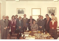 Wivenhoe Town Council Members 1983