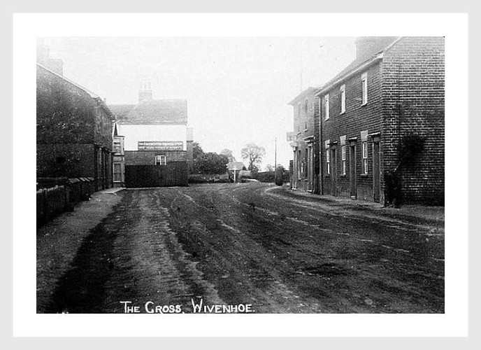 The Old Forge at The Cross is just behind The Horse and Groom with The Post Office on the right. | Wivenhoe Memories Collection