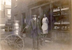 Bill Payne, the Dairyman and his Shop