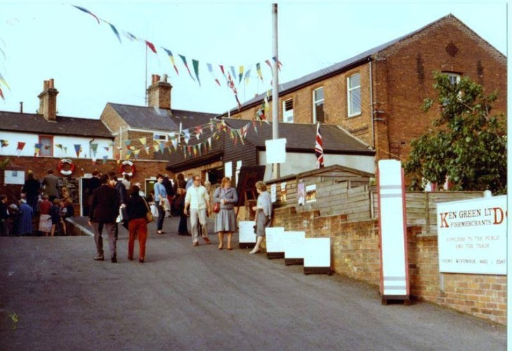 Open day at Ken Green's wet fish store in West Street. | Wivenhoe Memories Collection