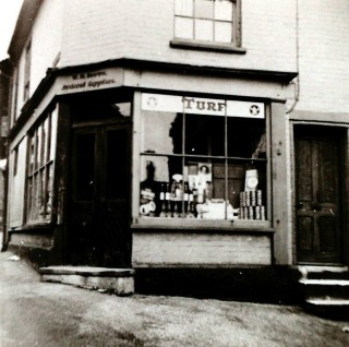 William Brown's Apothecary on the corner of East Street and Anchor Hill. | Wivenhoe Memories Collection