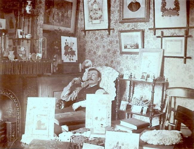 Alexander Kay Barlow in Wivenhoe Hall | Wivenhoe Memories Collection