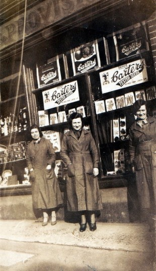 Local women who worked in Stacey Wood's store. One was related to the Gloziers. | Wivenhoe Memories Collection