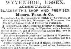 Blacksmith's Shop and Premises