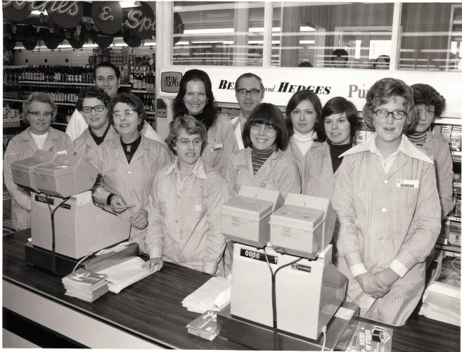 Opening of the new modern Co-op | Photo by Leslie Mercer. Wivenhoe Memories Collection