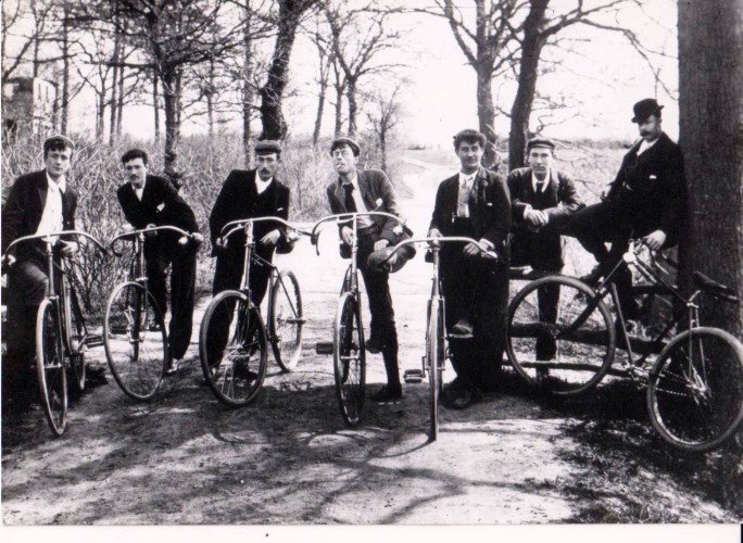 Wivenhoe Cycle Club - formed 1886 | Wivenhoe Memories Collection