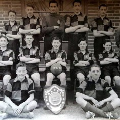 Brightlingses Secondary Modern School Football Team 1947 | Wivenhoe Memories Collection