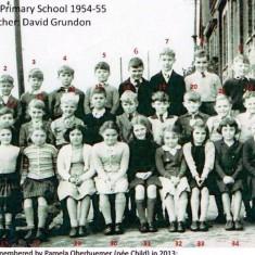Wivenhoe Primary School 1954-55 | Wivenhoe Memories Collection