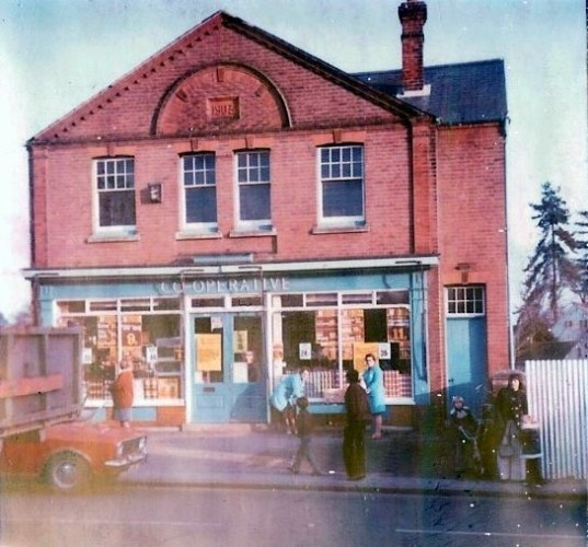 The Old Co-op, 1972 | Wivenhoe Memories Collection