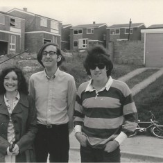 Joyce and Richard Gray with the building of The Dale behind. Summer 1971 | Pat Marsden