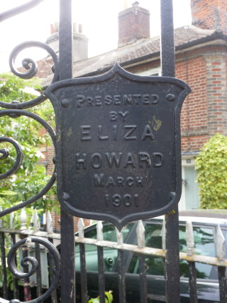 The gates were presented to the Church by Eliza Howard in 1901 | Photo by Peter Hill