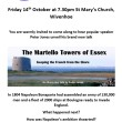WHG Public Lecture - Martello Towers of Essex