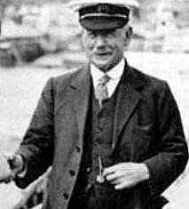 Captain Albert Turner, skipper of the King's Yacht