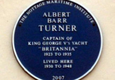 Captain Albert Turner- King's Yacht Skipper
