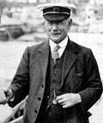 Captain Albert Turner, skipper of the King's Yacht