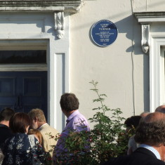 Albert Turner Plaque unveiling 14th October 2007, | Photo Mike Downes