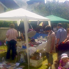 QRRA Stall at Art on the Railings and the June Market, 2010 | QRRA