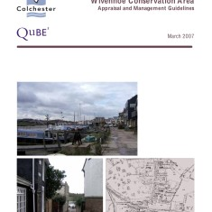 Researched the history of the Conservation Area in 2006 and submitted a representation to the Wivenhoe Conservation Area Appraisal prepared by Qube in March 2007 | Qube