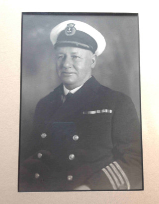 Lieutenant Commander Leonard Cockrell  | Picture loaned by Colin Fincham