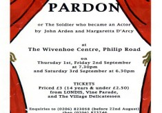 Wivenhoe Youth Theatre - The Royal Pardon