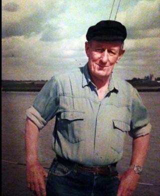 Guy Harding who established the Colne Marine Boat Yard in 1953
