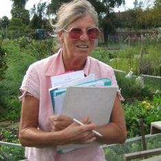 Celia O'Donnell, responsible for allotment administration for many years. | Picture Peter Hill (2005)