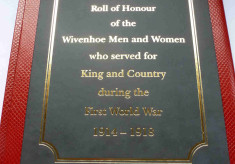 Roll of Honour - WW1